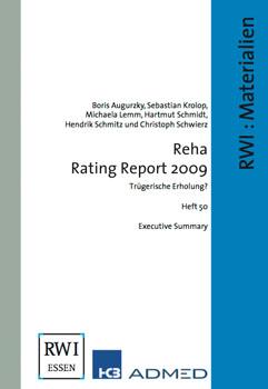 Reha Rating Report 2009