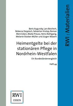Heimentgelte bei der stationären Pflege in Nordrhein-Westfalen