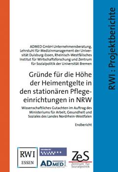 Gründe für Höhe der Heimentgelte in station. Pflegeeinrichtungen in NRW